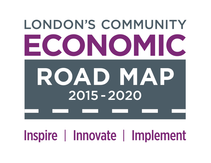 London community economic road map icon