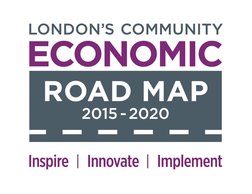 London community economic road map icon
